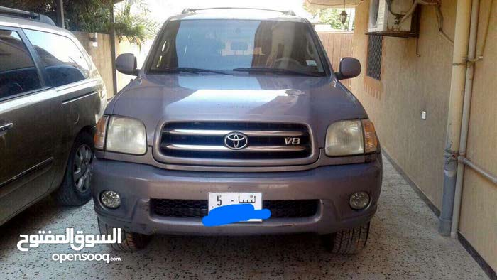 Used condition Toyota Sequoia 2003 with 0 km mileage