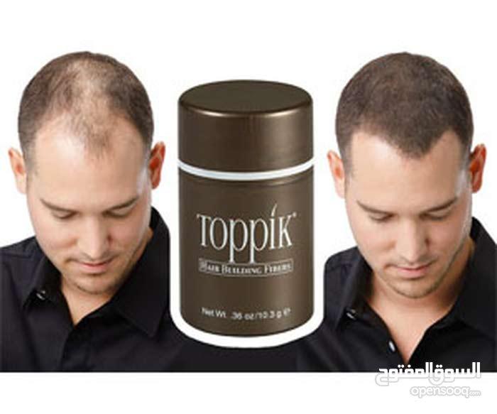 توبيك toppik لتغطيه الصلع والفراغات  27.5g