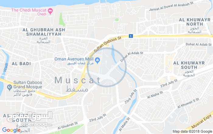 First Floor  apartment for rent with 3 rooms - Muscat city All Muscat