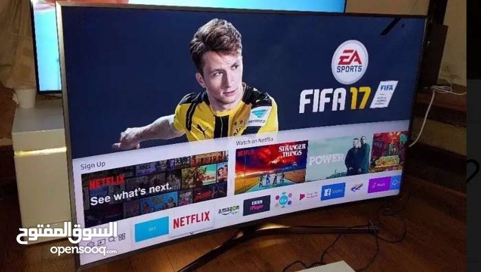 samsung smart 4k uhd55 Inches curved tv