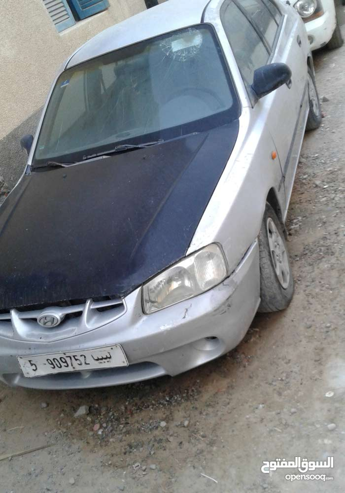 Manual Grey Hyundai 2002 for sale