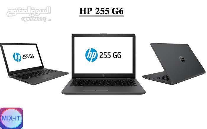 لابتوب HP 255 G6 الجيل السابع جديد فقط 1050 شيكل