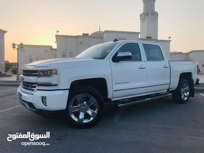 For sale 2017 White Silverado