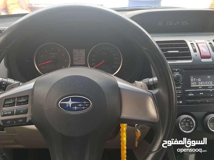 Automatic Grey Subaru 2014 for sale
