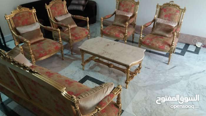 Antique vintage classic luxurious Egyptian handmade living Room Sofa Set for sale