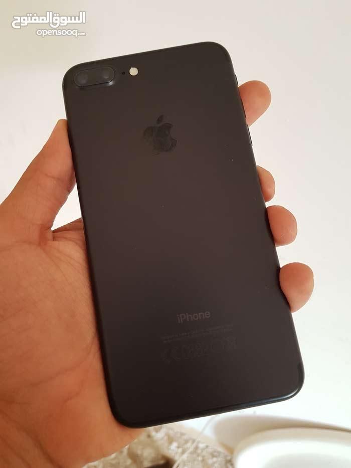 iPhone 7plus 128 giga jet black