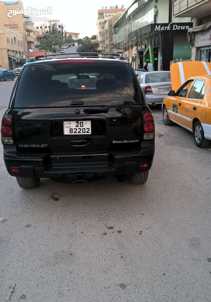 90,000 - 99,999 km Chevrolet TrailBlazer 2002 for sale
