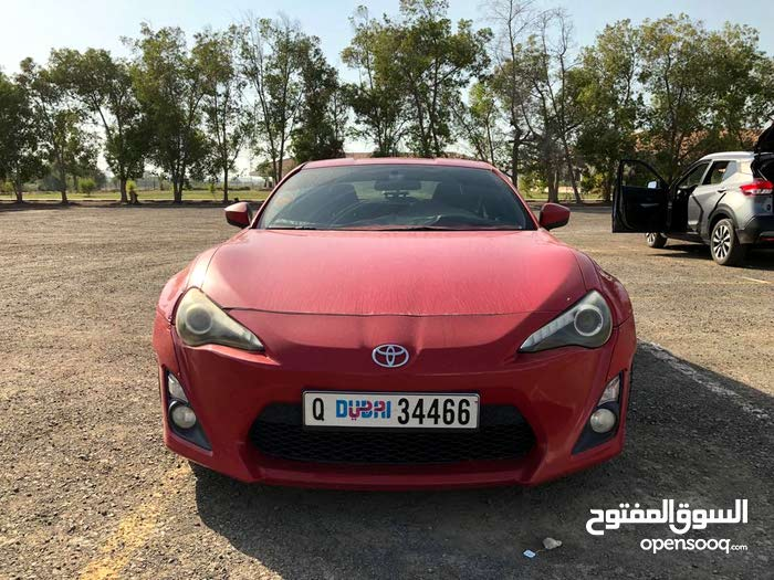 Used Condition Toyota Gt86 2013 With 130 000 139 999 Km Mileage