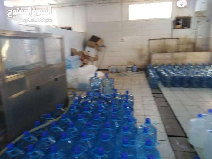 معمل مياه للبيع
