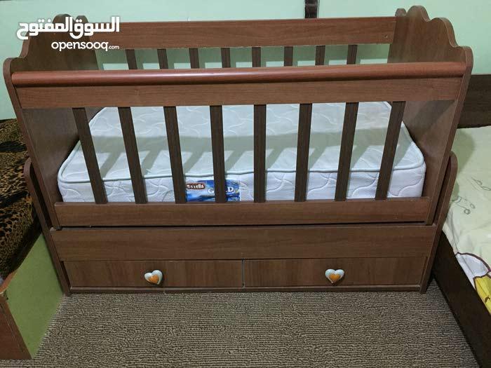 سرير أطفال إستيراد خارجي مستعمل