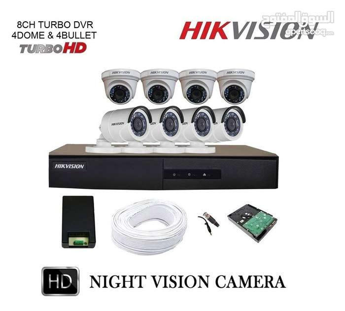 تابع وأمن ممتلكاتك بأقوى عروض وبأحدث انظمة المراقبة679719ضمان عامماركة  Hikvision