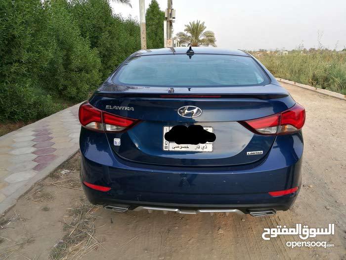 Automatic Blue Hyundai 2015 for sale