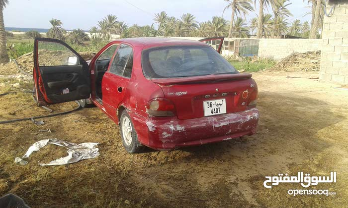 Red Hyundai Accent 1999 for sale