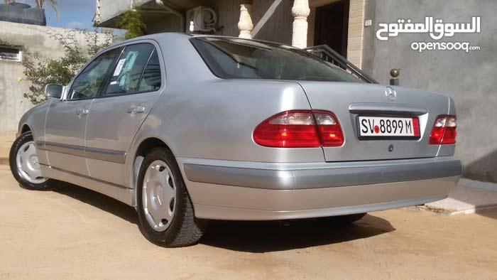 Silver Mercedes Benz E 200 2002 for sale