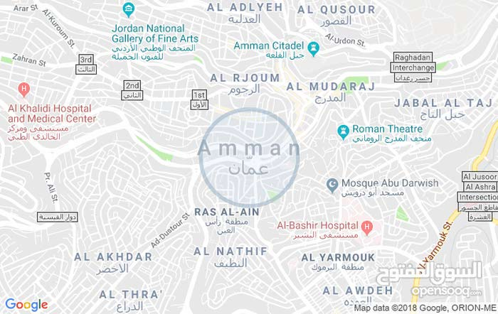 apartment in Amman Al Muqabalain for rent
