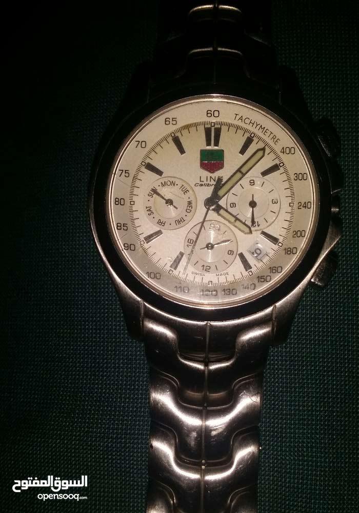 الحالة استعمال خفيف ساعة يد رجالية ماركة TAG Heuer لينك كاليبر مقاومة للماء صناع