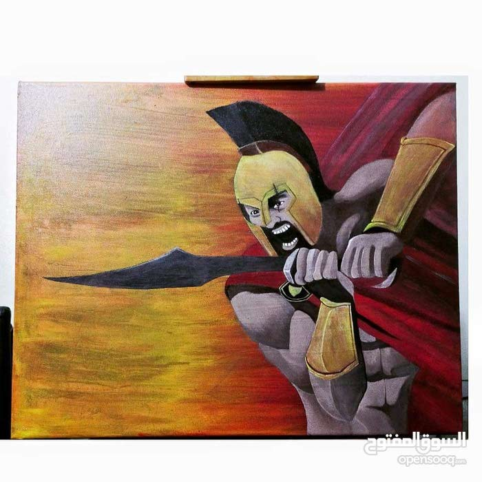 Spartan Canvas Painting