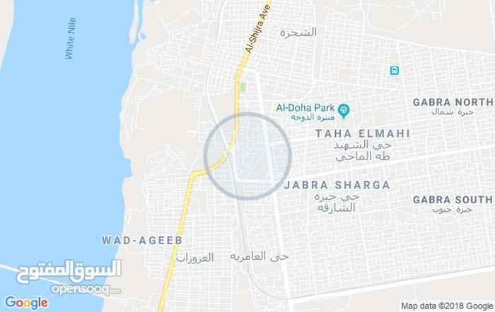 للبيع قطعة ارض في السوق العربي الخرطوم شارع عبداللطيف  ناصيه