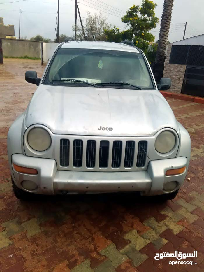 Automatic Grey Jeep 2003 for sale