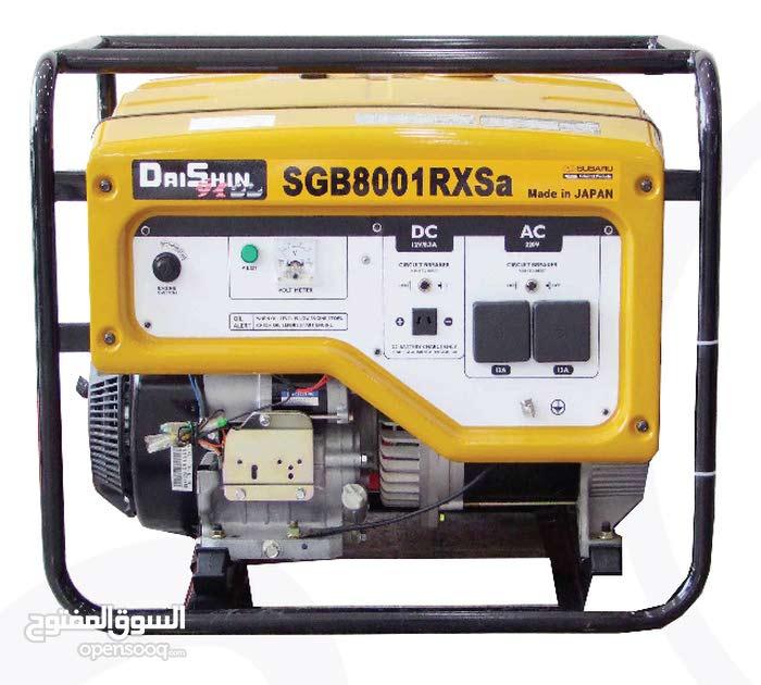 ماطور كهرباء 8 كيلو واط روبين ياباني ضمان سنة