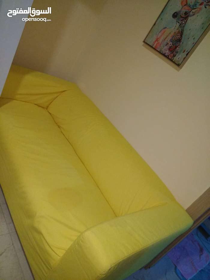 Yellow Ikea Sofa