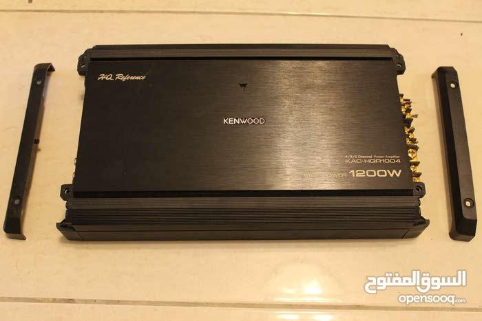 Kenwood 1200 Wat 4 channel amplifier مضخم صوت امبليفاير كينوود