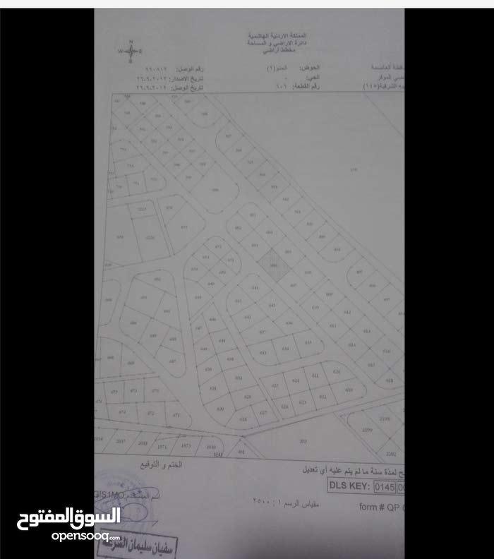ارض سكنية للبيع في ذهيبة الشرقية مقابل الدفاع المدني رقم القطعة 606