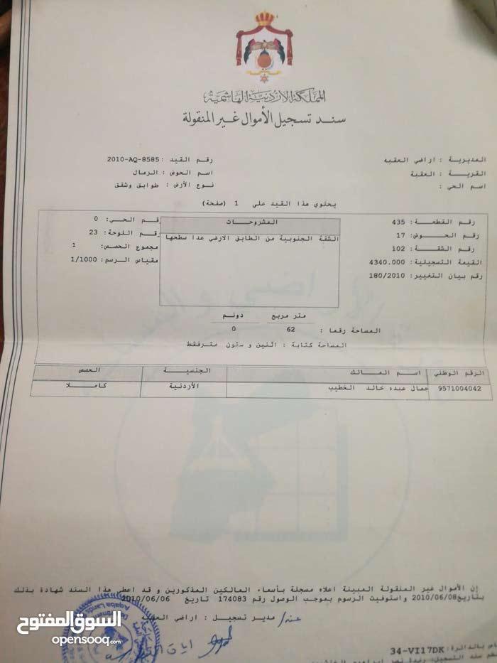 Best price 66 sqm apartment for sale in AqabaAl Mahdood Al Wasat