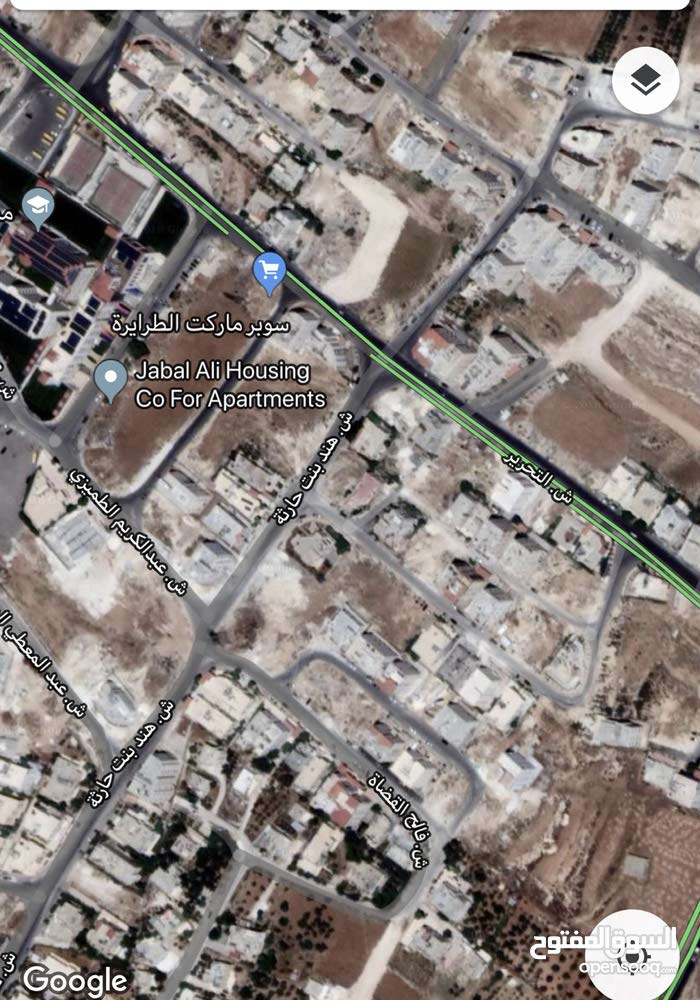 البنيات قرب مدارس الحصاد التربوي 1008م واجهه 35م مع منسوب تصلح لاسكان