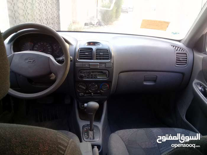 Automatic Grey Hyundai 2002 for sale