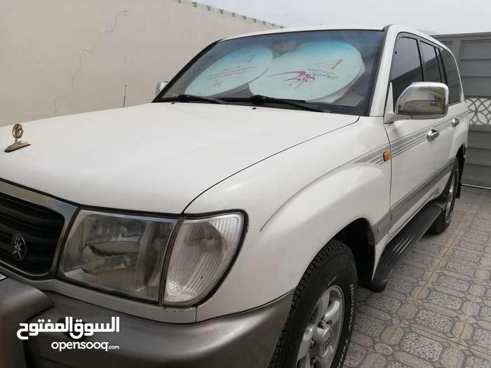 White Toyota Land Cruiser 1998 for sale
