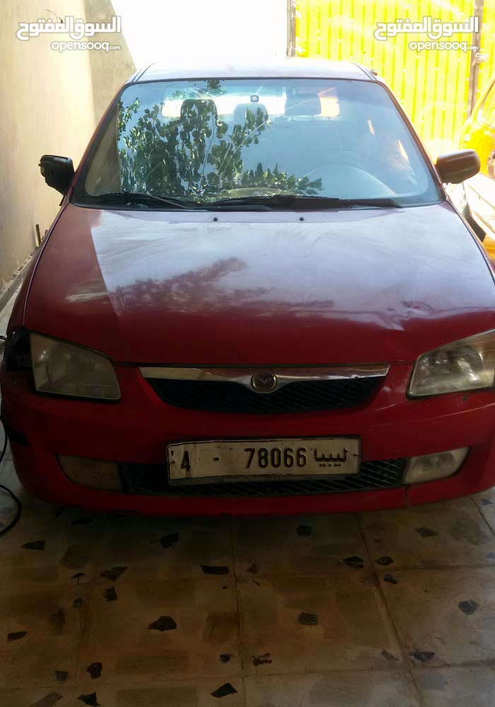 Red Mazda 3 2002 for sale
