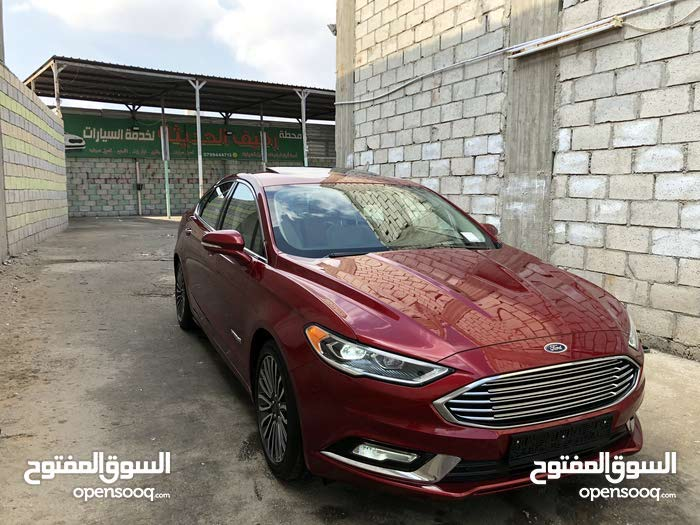 For sale 2017 Maroon Fusion