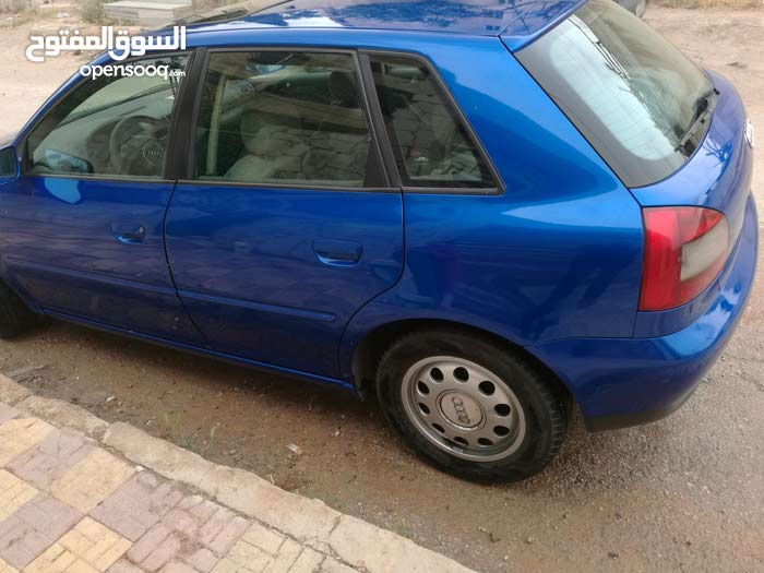 Used condition Audi A3 2002 with +200,000 km mileage
