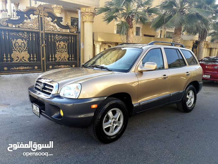 Hyundai Santa Fe 2001 For sale - Gold color