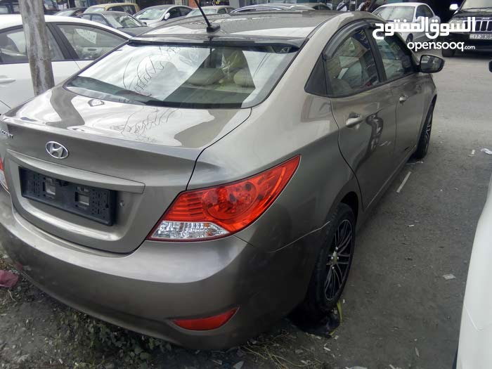 Automatic Black Hyundai 2014 for sale