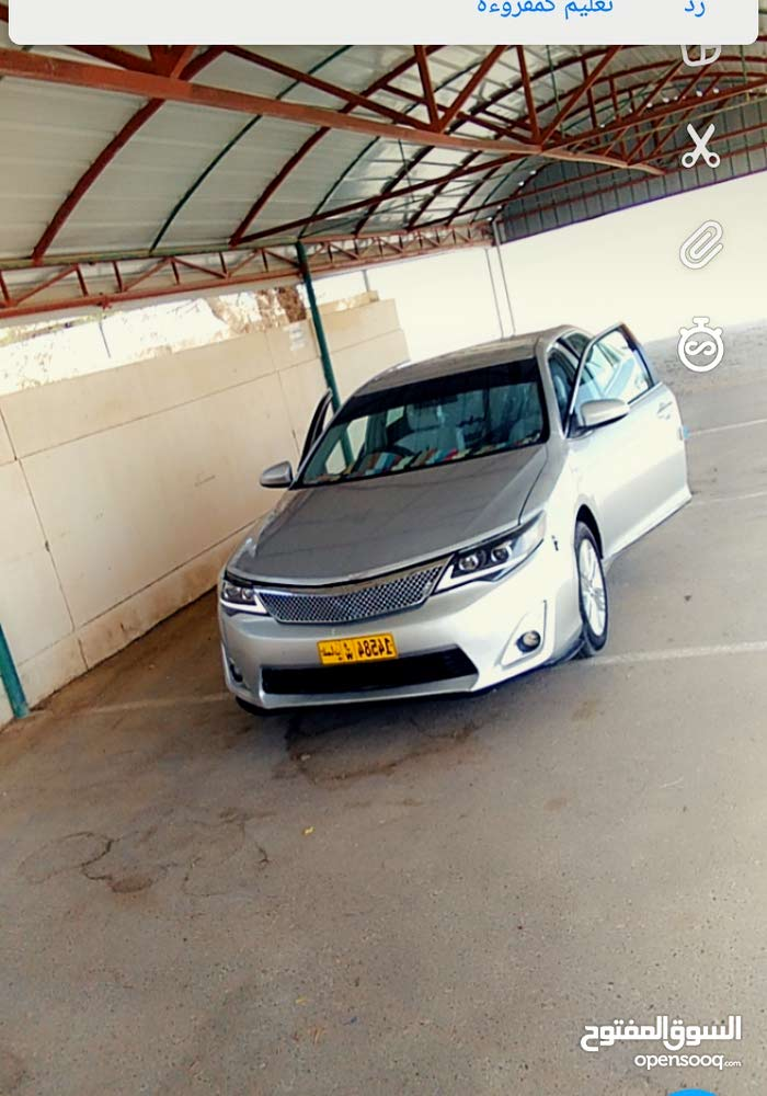 Automatic Toyota 2013 for sale - Used - Al Khaboura city