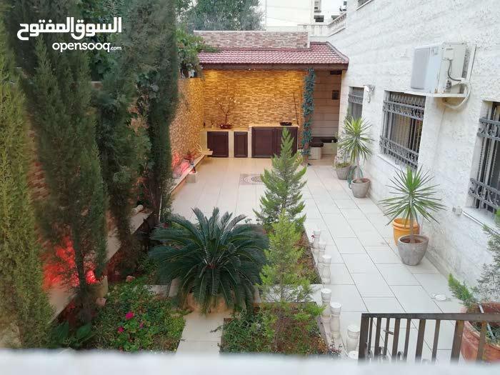 شقة أرضية مفروشة بمدخل مستقل وحديقة رائعة بمحيط الجامعة الاردنية