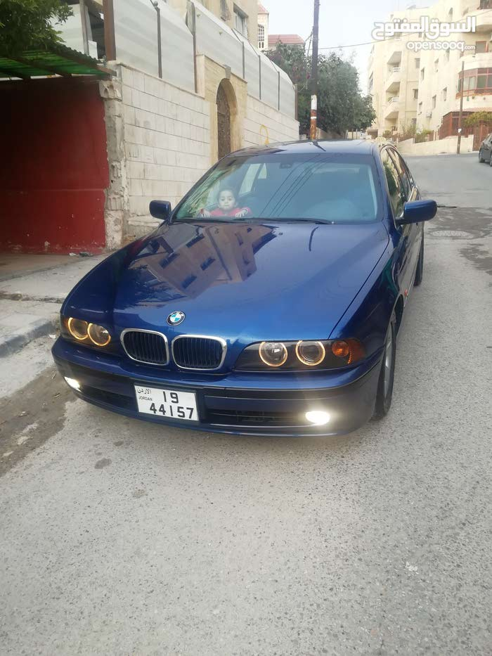 BMW 520 car for sale 2000 in Amman city