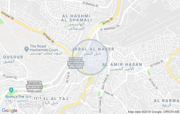 شقة للايجار في جبل النصر  بالقرب من المدارس و الخدمات