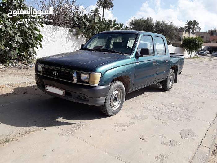 2001 Used Hilux with Manual transmission is available for sale