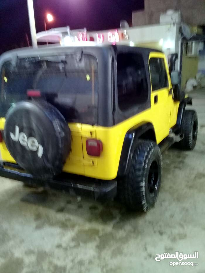 2003 Used Wrangler with Automatic transmission is available for sale