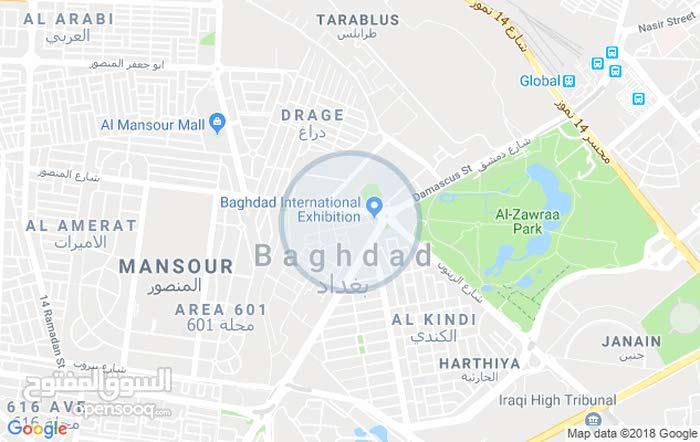للبيع بيت مساحتة 150 م  بغداد الغزالي