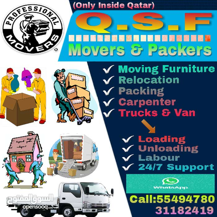 Moving & Relocation, Carpenter, Packing & unpacking