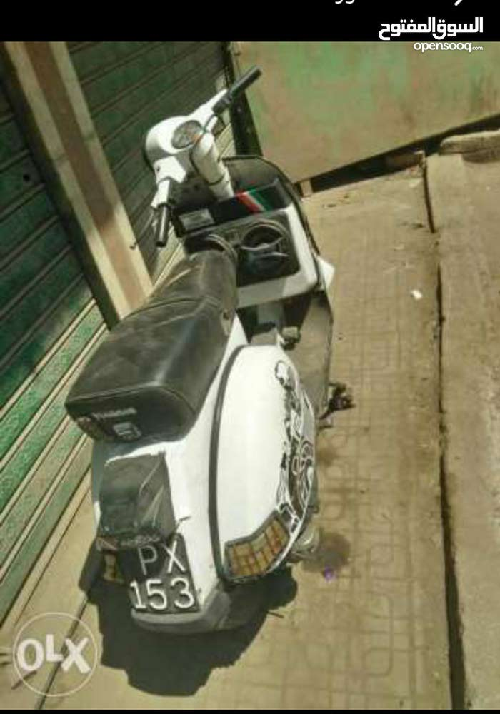 Used Vespa motorbike available in Cairo