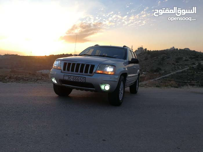 Silver Jeep Grand Cherokee 2004 for sale