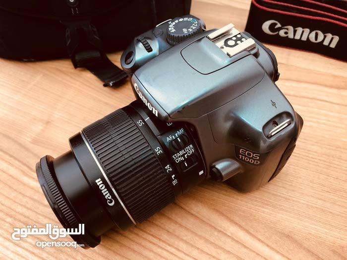كاميرا كانون 1100D بحالة الجديد