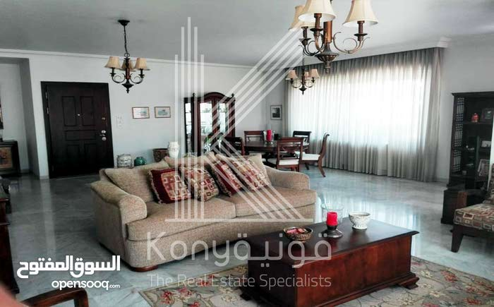 شقة طابقية للبيع في عبدون