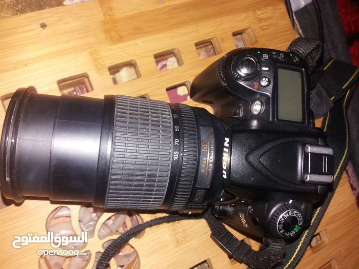 كاميرة نيكون d90 نضيفه ستعمال خفيف