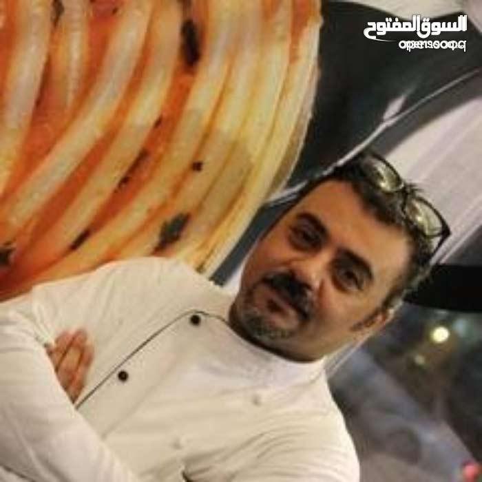 chef. Italian cuisine